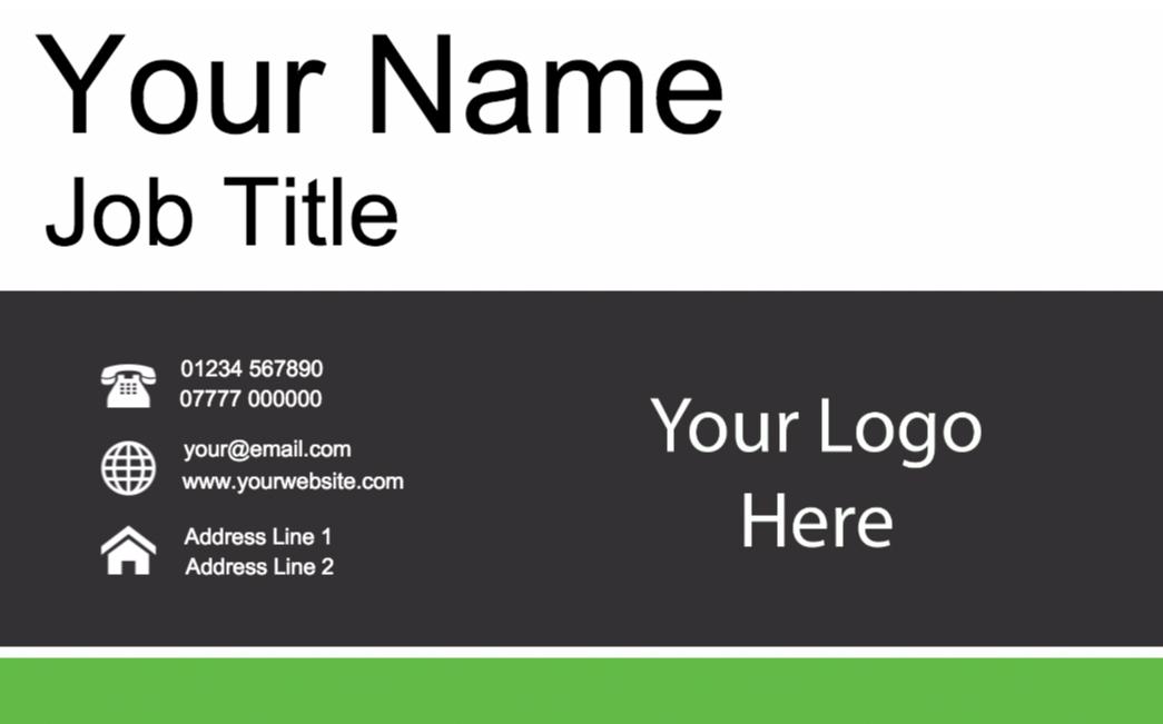 Basic Business Card – Design S008 – Copyprint
